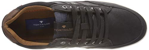 Black Uomo Scarpe da Nero 5881203 Tom Basse 00001 Tailor Ginnastica T7Fx8