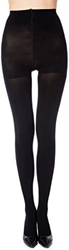 MANZI 1-6 Pairs Run Resistant Control Top Opaque Tights