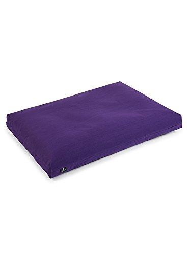 Yoga Studio Zabuton cojín de meditación (púrpura): Amazon.es ...