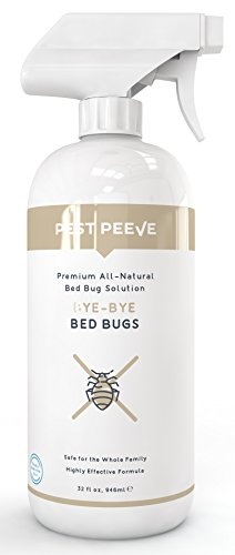 Pest Peeve Bye-Bye Bed Bugs Natural Spray