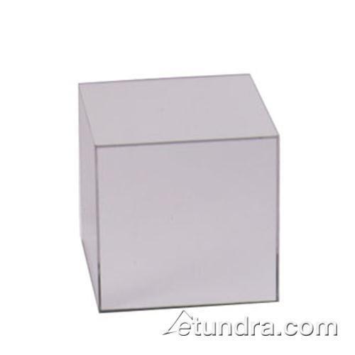 Cal-Mil MC708 Mirror Cube Riser, 8'' Height, 8'' Width, 8'' Length, Acrylic by Cal Mil