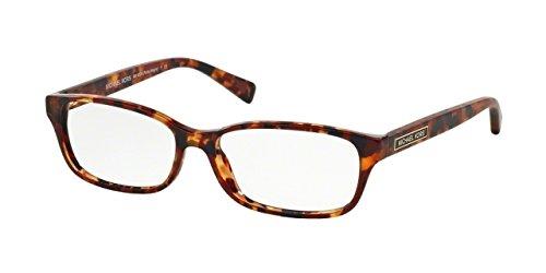 Michael Kors MK4024F Eyeglass Frames 3067-55 - Burgundy / Tortoise ...