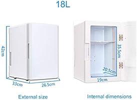 WLAY 18L Mini Refrigerador Y Calentador Portátil De Coche Nevera ...