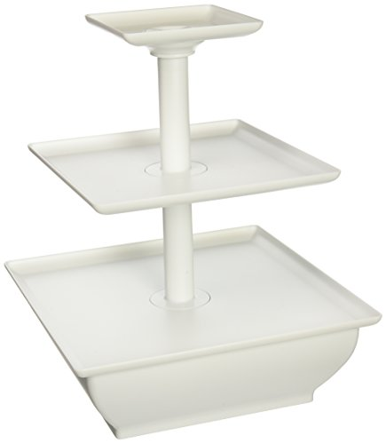 3-Tier Wilton Snack Server Square - 1