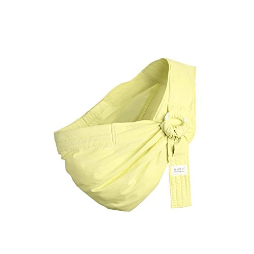 Kangaroobaby Baby Sling Wrap Carrier From Newborns To Todder Child Yellow