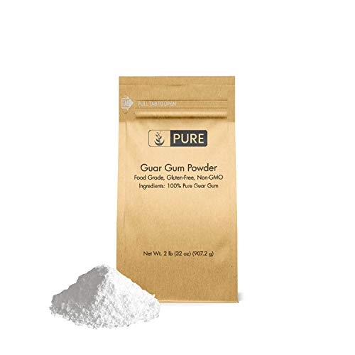 Guar Gum Powder (2 lb.) by Pure Organic Ingredients, 100% Food Grade, Gluten-Free, Non-GMO, Thickening Agent