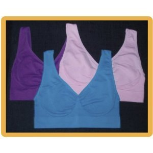 da9171dc9531f Image Unavailable. Image not available for. Color  Shear Shapewear Bras 3  Pack ...