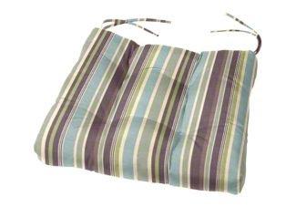 Tufted Chair Cushion 20 x 18 x 4 Cushion Source Seat Cushion Indoor Outdoor Sunbrella Navy 5439-0000