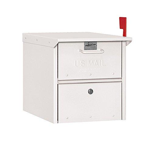 (Salsbury Industries 4325WHT, White Roadside Residential Mailbox, )