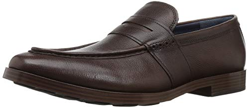 Cole Haan Men's Jefferson Grand Penny Loafer, Burnt Umber, 10.5 M US