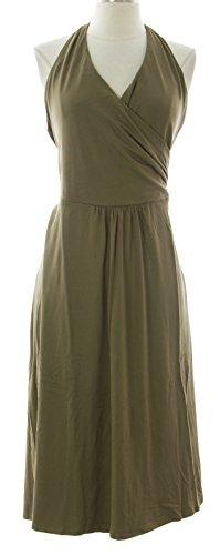 Boden Women's St. Lucia Halter Dress US Sz 12R Brown