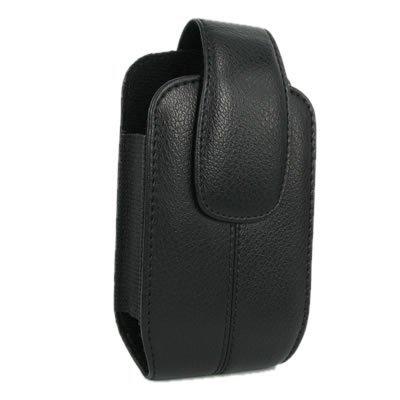 Axiom Brand Black Leather Case Vertical for Samsung: A257 Magnet / Shift, A637, A837 Rugby, A867 Eternity, A877 Impression/Genie, A897 Mythic, A927 Flight 2, i637 Jack, i900 / i910 Omnia, i9000 Galaxy S, M360, M540 Rant, M550 Exclaim, M850 Instinct HD S50, M900 Moment, M910 Intercept, M920 Transform, R350/R351 Freeform, R360 Freeform II, R560 Messager II / R561 Vice, R800 Delve, R810 Finesse, R850 Caliber, R860 Caliber, R900 Craft, S30 M810 Instinct Mini, T349, T459 Gravity, T469 Gravity II, T559 Comeback, T919 Behold, T929 Memoir, T939 Behold 2, U820 Reality, U960 Rogue