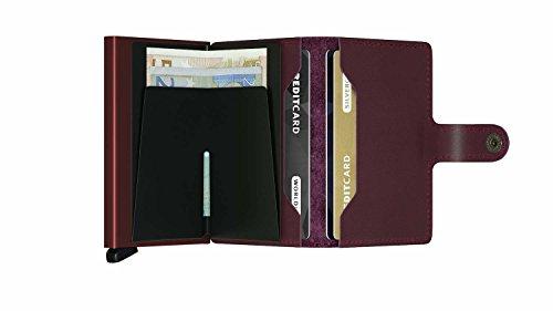 Card max Genuine 12 Case SECRID RFID Safe Bordeaux cards wallet Secrid Leather Original Mini for 47zqwF