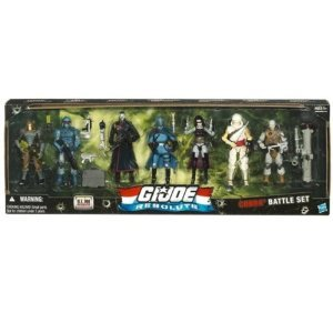 G.I. JOE Hasbro Resolute 3 3/4 Cobra Action Figure Collector 7Pack Set ()