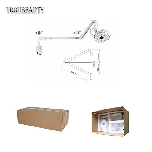 TDOUBEAUTY Dental 36W Hanging LED Surgical Oral Exam Light Shadowless Lamp KD-2012D-1 by TDOUBEAUTY (Image #7)