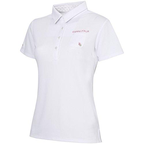 (カッパゴルフ) KAPPA GOLF ゴルフ ウェア LATバックロゴ半袖シャツ KG622SS76 WT M