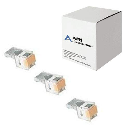 AIM Compatible Replacement for Xerox DocuPrint N24/32/40/42 Staples (3/PK-5000 Staples) (108R00158) - Generic by AIM (Image #1)
