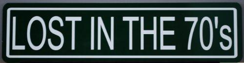 METAL STREET SIGN LOST IN THE (Camaro Road Racing)