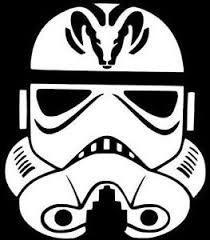 Stormtrooper Costumes Blaster (Stormtrooper Star Wars Dodge Vinyl Decal Sticker|WHITE|Cars Trucks Suvs Laptops Wall Art|5.5