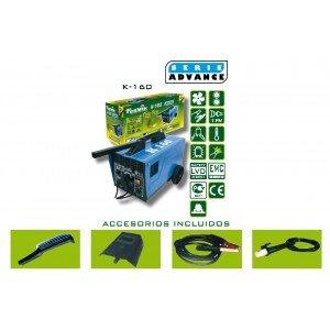Cevik CE-K160 - Equipo de Soldadura 160 A. Electrodos de 1,6 a 4,00 mm. Con accesorios: Amazon.es: Industria, empresas y ciencia