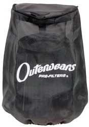 Outerwears Pre-Filter for K&N KA-4508 Filter - Black 20-2371