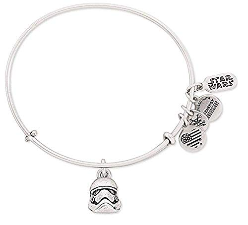 Disney Parks Exclusive Star Wars Stormtrooper Helmet Alex ANI Charm Bangle Bracelet by Alex and Ani (Image #2)