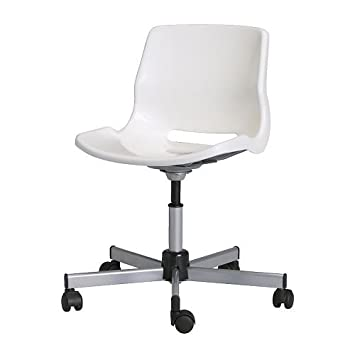 Schreibtischstuhl ikea  IKEA SNILLE - Swivel chair, white: Amazon.co.uk: Kitchen & Home