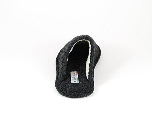 Pantofole da Donna Invernali Stella Antracite