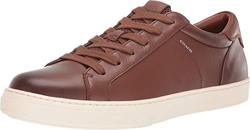 Coach Men's C126 Saddle 8.5 D US (Brown Shoes Men Coach)