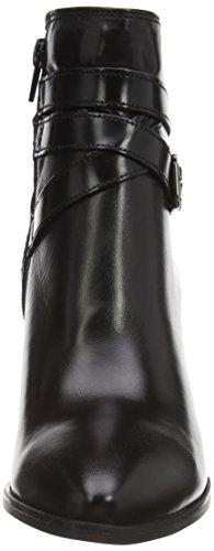 Tamaris 25072 - botas de cuero mujer negro - Schwarz (Black Comb 098)