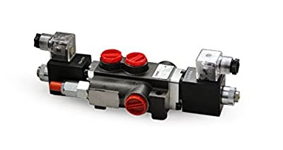 CHIEF Solenoid Operated Directional Control Valves: 21 GPM, SAE#10/12 Inlet/Outlet, 1 Spool, 12 VOLT, 3625 PSI, SAE#10 Work Port, 220880 by Bailey Hydraulics