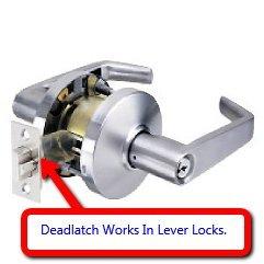 Deadlatch Replacement For Knob Amp Lever Door Lock 2 3 4