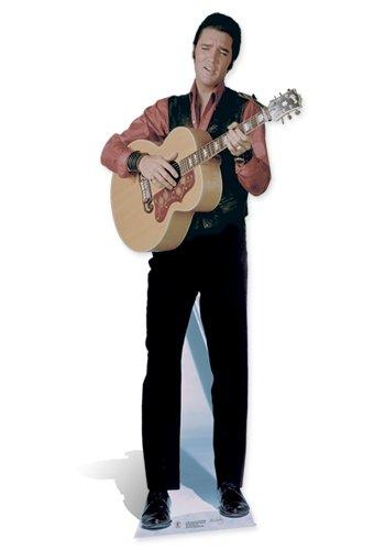 SC242 Elvis Presley Singing Cardboard Cutout (Elvis Stand Up)