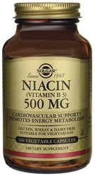 Solgar - niacine (vitamine B3) 500