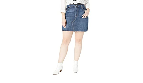 af1739815 Levi's Women's Plus-Size Deconstructed Skirts at Amazon Women's Clothing  store:
