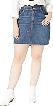 Levi's Women's Plus Size Deconstructed Skirts, Middle Avenue, 40 (US 20)