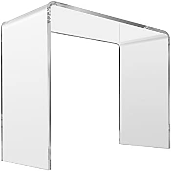 Crystal Clear Acrylic Console Table   Sofa, Entryway, Couch Or Hall Tables    Goes