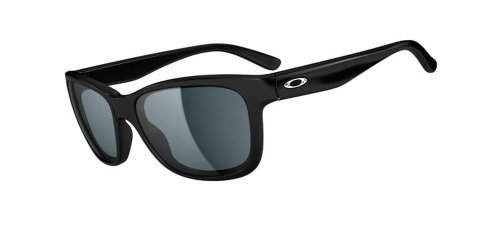Black Oakley Lunette de Grey Forehand Polished soleil OOHqTwf