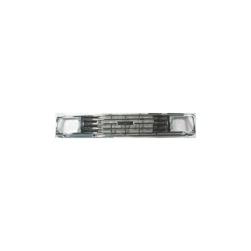 2wd Chrome Grille (Make Auto Parts Manufacturing - TOYOTA PICKUP 84-86 GRILLE, Chrome, 1-Piece Type, 2WD - TO1200129)