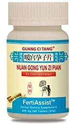 3 Bottles of Nuan Gong Yun Zi Pian FertiAssist Plus Fertility Blend for Women Family Planning- 200 Pills in each Bottle
