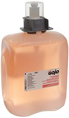 GOJO Luxury Foam Handwash, Cranberry Fragrance, 2000 mL EcoLogo Certified Handwash Refill for FMX-20 Push-Style Soap Dispenser, (Case of 2) - 5261-02