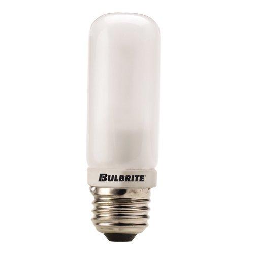 Bulbrite Q250FR/EDT 120-Volt Halogen JDD Type Tubular Medium E26 Bulb, Frosted, 250-Watt