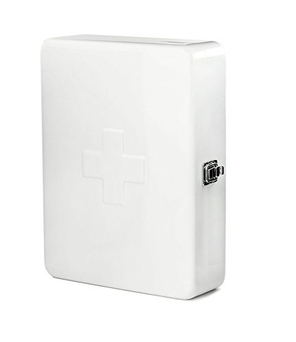 Kikkerland First Aid Cabinet, White