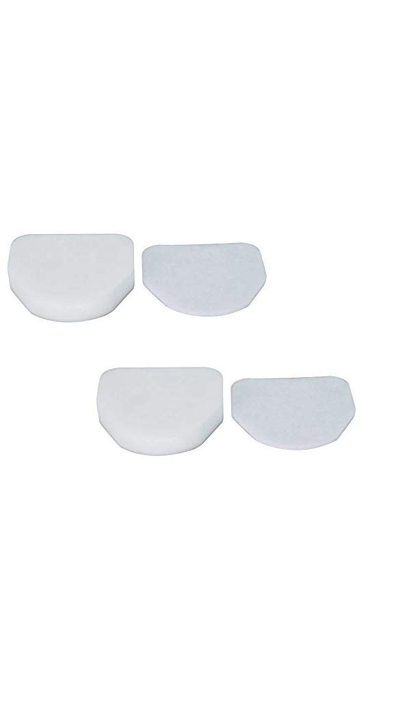 Shark Foam /& Felt Filter Kit 2+2 NV480 by DVC Products Compare to XFF450 for use with Shark Rotator Professional Series Model NV450 NV472 Filter # XFF450