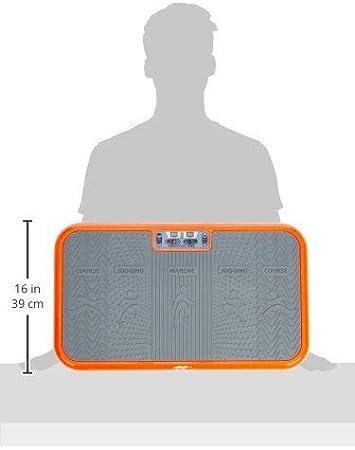 Vibrationsplatte Vibrationsgerät Vibro Vibrationstrainer Training shaper DE