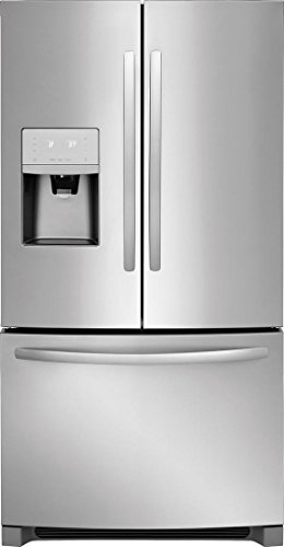 (Frigidaire FFHD2250TS 36 Inch Counter Depth French Door Refrigerator with 22.5 cu. ft. Total Capacity, in Stainless)