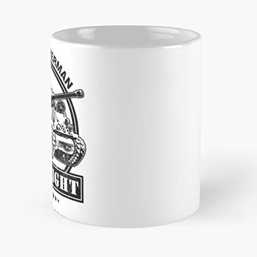M4a3e8 M4 Sherman Tank - Funny Coffee Mug, Gag Gift Poop Fun Mugs