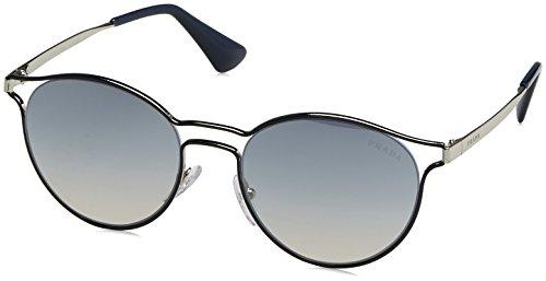 Prada PR 62SS TFM5R0 Cinema Blue Silver Sunglasses Blue Silver Mirror - Pr 62ss
