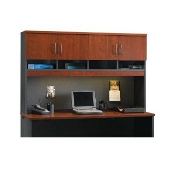 Sauder Via Hutch for Credenza in Classic Cherry by Sauder