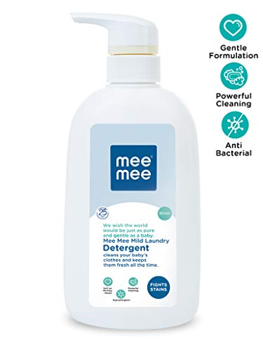 Mee Mee Mild Baby Liquid Laundry Detergent (500 ml – Bottle)
